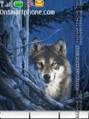 Northern Wolf theme screenshot
