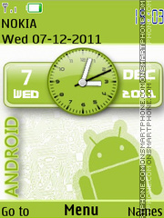 Android V1 theme screenshot