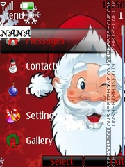 Santa 2012 CLK theme screenshot