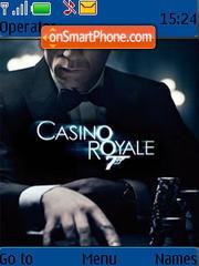 007 Casino Royale theme screenshot
