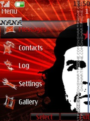 Che Guevara CLK theme screenshot