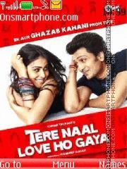 Tere Naal Love Ho Gaya es el tema de pantalla