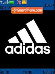 Capture d'écran Adidas Black Original thème