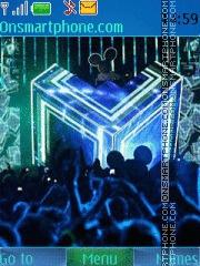 Disco Night theme screenshot