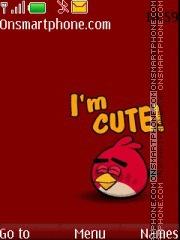 Angry Bird Cute theme screenshot