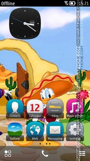 Capture d'écran Mexican Donald thème
