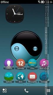 Capture d'écran Yinyang thème