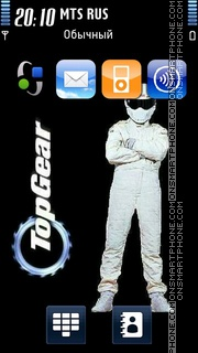 The Stig - Top Gear 01 es el tema de pantalla