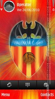 Valencia tema screenshot
