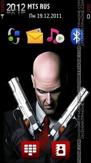 Hitman 11 theme screenshot