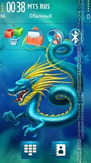 Dragon 2012 theme screenshot