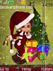 Merry Xmas 05 es el tema de pantalla