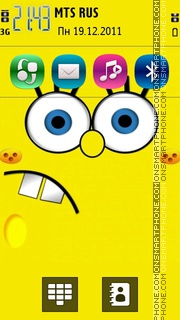 Spongebob 23 theme screenshot