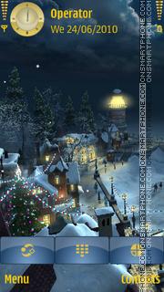Coastal Christmas theme screenshot