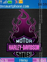 Harley Davidson 03 theme screenshot