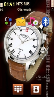 JS Watch co. Islandus theme screenshot