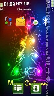 Merry Christmas 2022 theme screenshot