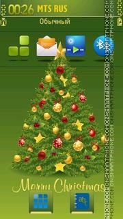 Christmas Tree 11 theme screenshot