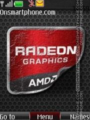 Radeon theme screenshot
