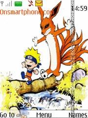 Baby Naruto And Kyuubi es el tema de pantalla