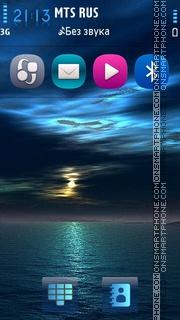 My sky v5 es el tema de pantalla