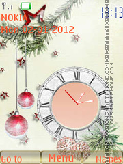 New Year es el tema de pantalla