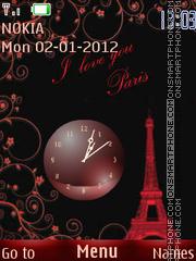 Red Paris es el tema de pantalla