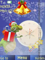 2012 new year es el tema de pantalla