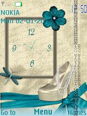 Turquoise Glamur es el tema de pantalla