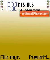Visa6 theme screenshot