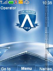 Levski sofia theme screenshot