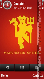 Manchester Red Devils theme screenshot