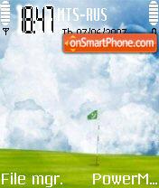 Golf 01 theme screenshot