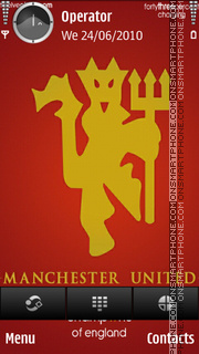 Champions of england tema screenshot
