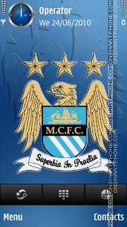 Manchester City theme screenshot
