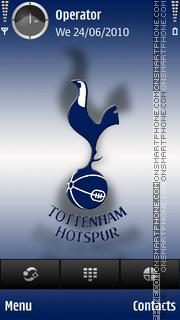 Tottenham Hotspurs tema screenshot