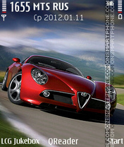 Alfa-Romeo theme screenshot