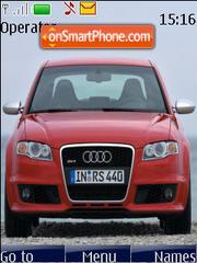 Audi RS4 es el tema de pantalla