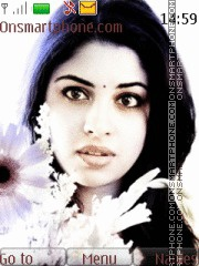 Richa Gangopadhyay theme screenshot