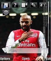 Arsenal by vetal es el tema de pantalla