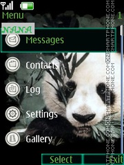 Panda CLK Theme-Screenshot