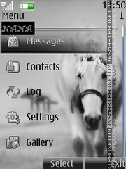 White Horse CLK Theme-Screenshot