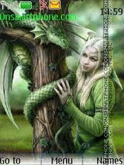 Green Dragon es el tema de pantalla