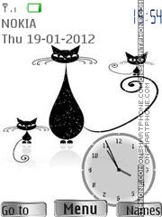 Black Cats es el tema de pantalla