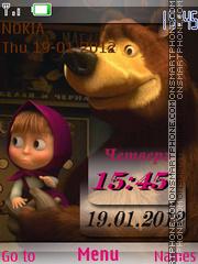 Masha i medved es el tema de pantalla