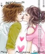 Simple Kiss es el tema de pantalla