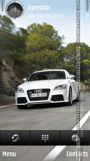 Audi TT theme screenshot