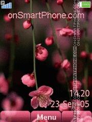 Pink Flowers 07 es el tema de pantalla
