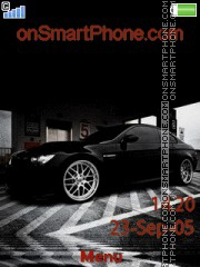 Black Bmw 06 theme screenshot