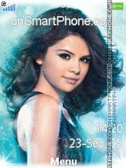 Selena Gomez 07 tema screenshot